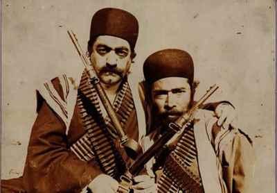 علی نصیریان، عزت الله انتظامی - فیلم شیر سنگی، سال ۱۳۶۵