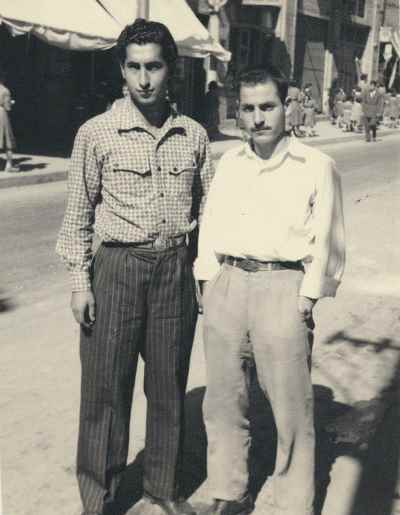سیراک ملکنیان ، ناصر اویسی- تهران - سال 1954