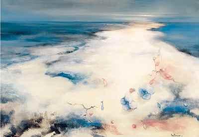 جاودانه خليج فارس - ابعاد 92×65- سال1985