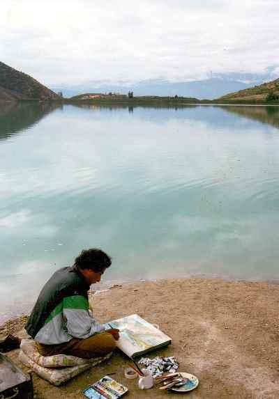 مصطفی دشتی - دریاچه ولشت