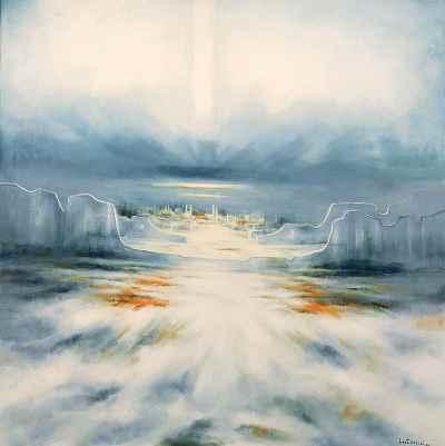 طغيان کوير -  ابعاد 132×132- سال2008
