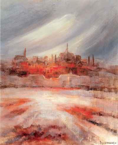 شهر عشق - ابعاد 38×46- سال1996