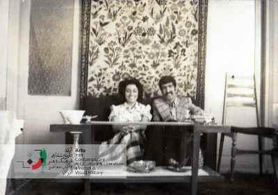 دوران نامزدی احمد پوری و زهره اعتضادزاده در تبریز