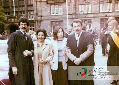 جشن فارغ التحصیلی دانشگاه ادینبرا ۱۳۵۶
