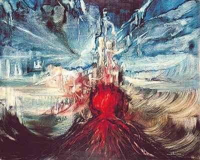 """""""هيروشيما عشق من٬ ظهر 6 اوت 1945- ابعاد 100×80 """"- سال1970"""