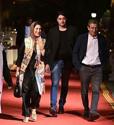 احمد حامد(همسر)، نریمان حامد(فرزند)، فاطمه معتمد آریا – جشن خانه سینما، کاخ سعد آباد