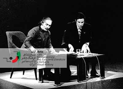 گفتگوی تلویزیونی ایرج پارسی نژاد و مهدی اخوان ثالث