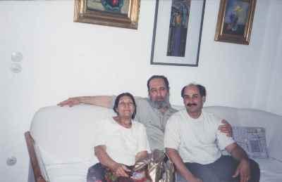 از راست: محمد حسین ماهر، شهاب موسوی زاده - سال 1379