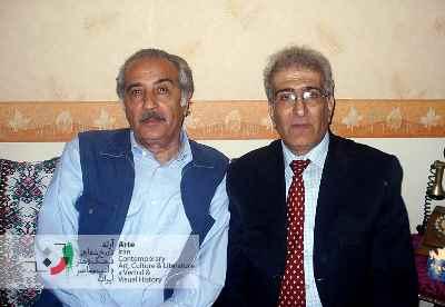 احمد پوری و محمد علی سپانلو