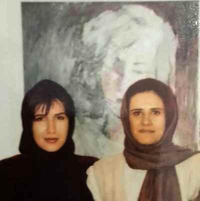 از راست: آریا اقبال، فرح سید ابوالقاسم