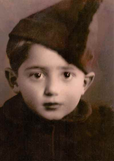محمد سریر در دوران کودکی