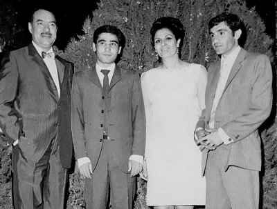 بهمن زرین پور، ژاله علو ، ایرج جنتی عطایی، هوشنگ بهشتی