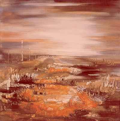 رستاخیز کویر -  ابعاد 140×140- سال1974