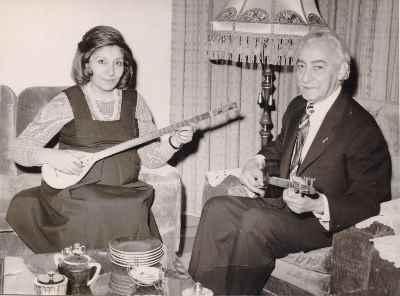 فخری ملکپور به همراه احمد عبادی