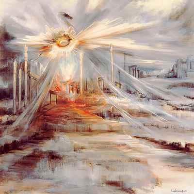 نگار جاودان -  ابعاد 138×138- سال1993