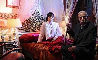 علی نصیریان، پریناز ایزدیار - مجموعه تلویزیونی شهرزاد ، کارگردان: حسن فتحی