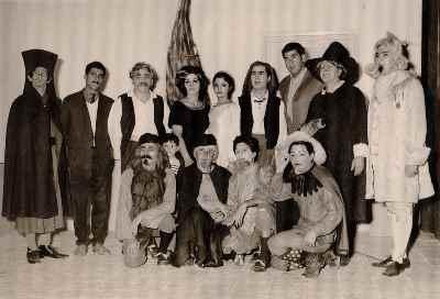 عروسی فیگارو اثر بومارشه، کارگردان: مصطفی اسکویی، تهران تاتر آناهیتا - سال ۱۳۴۶
