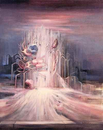 قصر خاکستر -  ابعاد 73×92- سال 1998