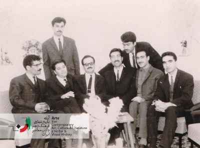 فریدون جنیدی در سازمان پیشاهنگی در ناحیه 8 تهران