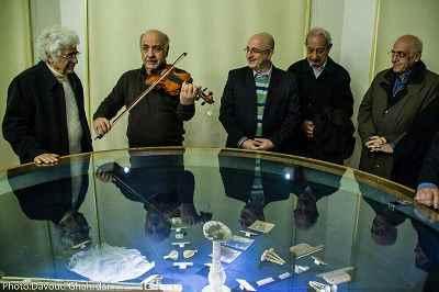از راست: محمد سریر، حسن ریاحی، علی مرادخانی، داوود گنجه ای، لوریس چکناواریان