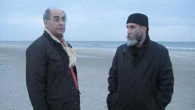 از راست: رضا عابدینی، محمد حسین ماهر