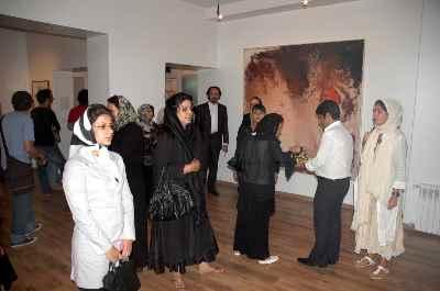نمایشگاه آثار مصطفی دشتی - گالری اثر