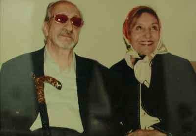 فخری ملکپور به همراه عبدالوهاب شهیدی