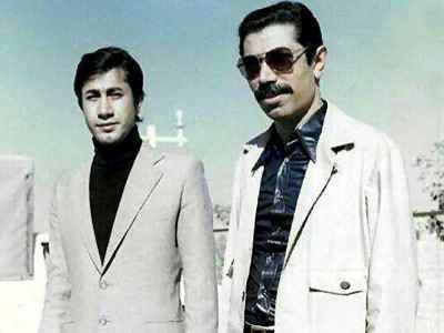از راست: علی نصیریان، حمید مظفری