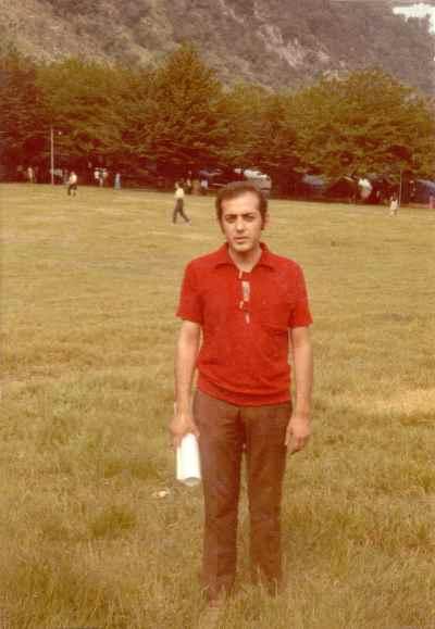 محمد سریر در دوران جوانی