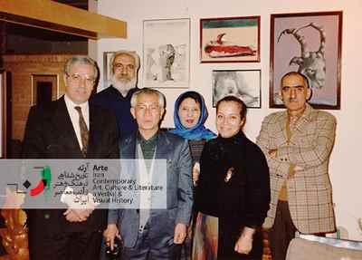 ایرج افشار - بوران طاهباز - امیکو - اوکادا - سیروس طاهباز - ایرج پارسی نژاد