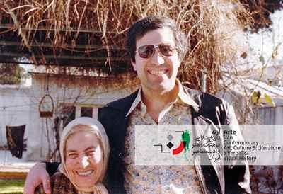 ایرج پارسی نژاد و مادرش