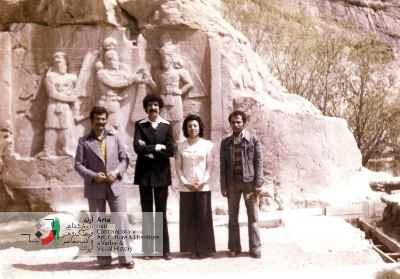 سعید اعتضادزاده (برادر همسر) و زهره اعتضادزاده (همسر)، احمد پوری و محمدحسین نوزادمقدم (دوست)
