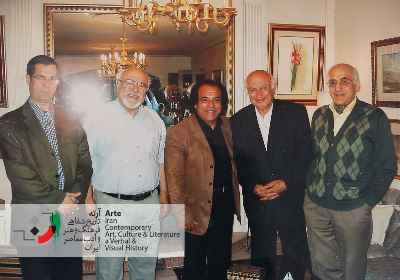 فخرالدين فخرالديني و محمد سریر، علي رهبری، علي دهباشي