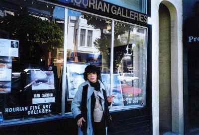 نمایشگاه ایران درودی در سانفرانسیسکو