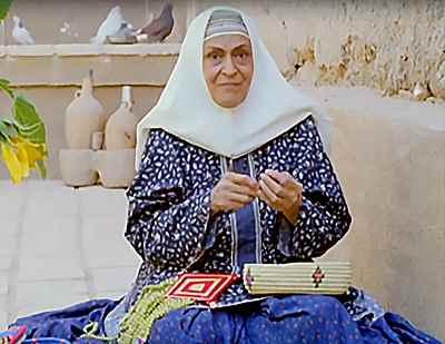 ژاله علو - سریال تفنگ سرپر به کارگردانی امرالله احمدجو