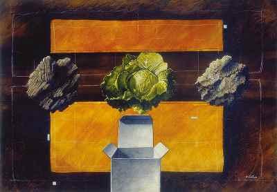 مجموعه آثار رنگ و روغن دهه 40