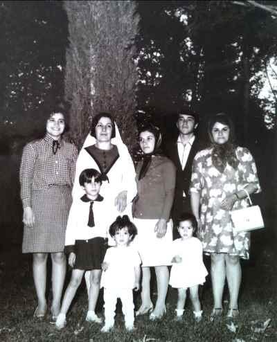فرح سید ابوالقاسم در  10 سالگی - سفر شیراز