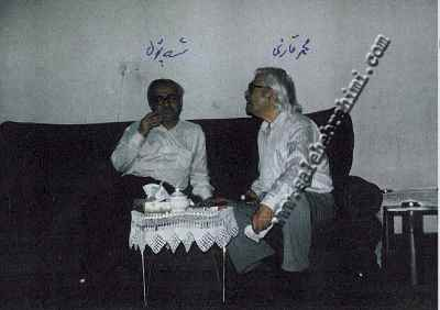 از راست محمد قاضیمحمد صالح ابراهیمی